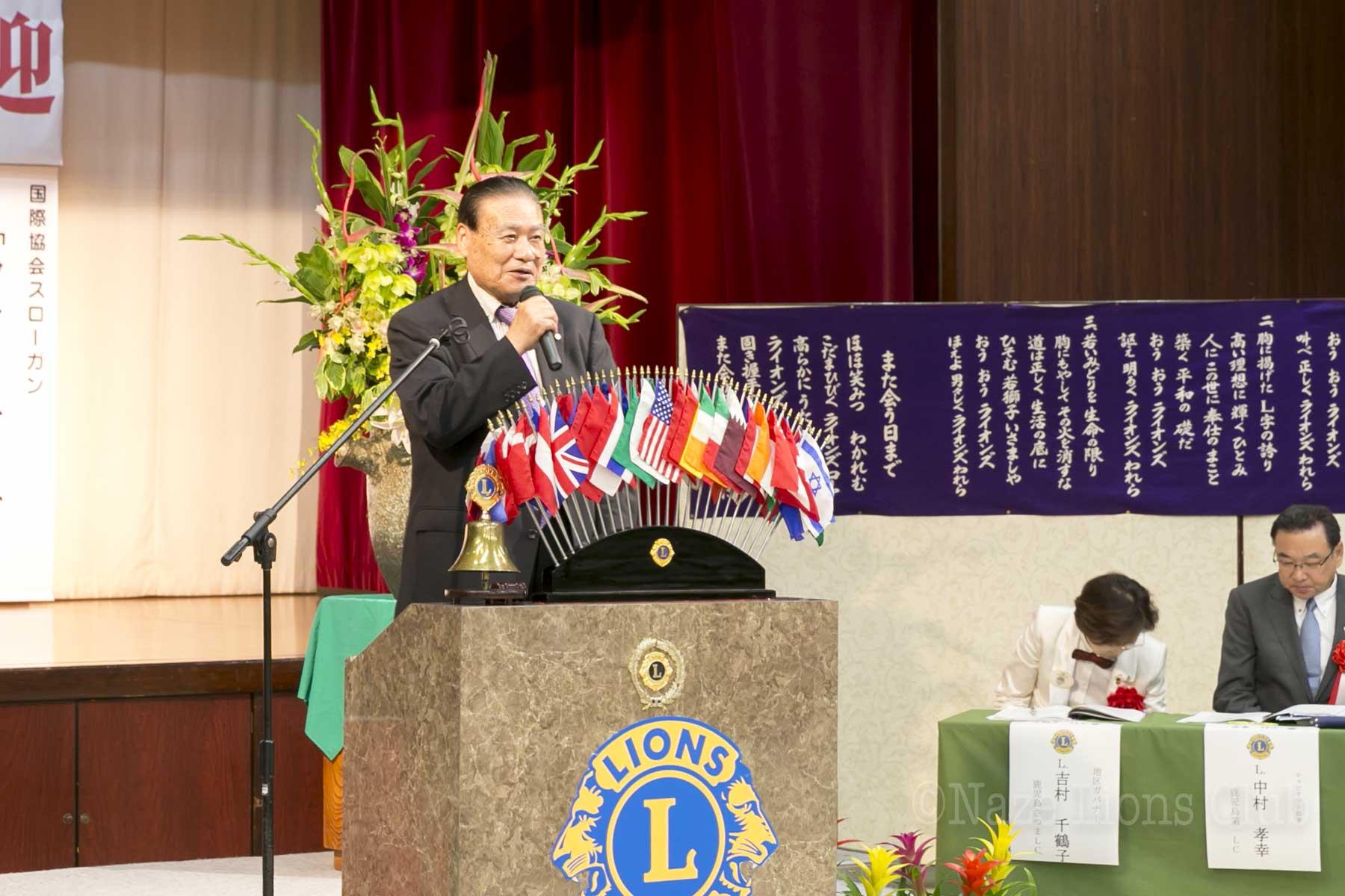 地区GMT・増強会員エクステンション委員長L.渡邉