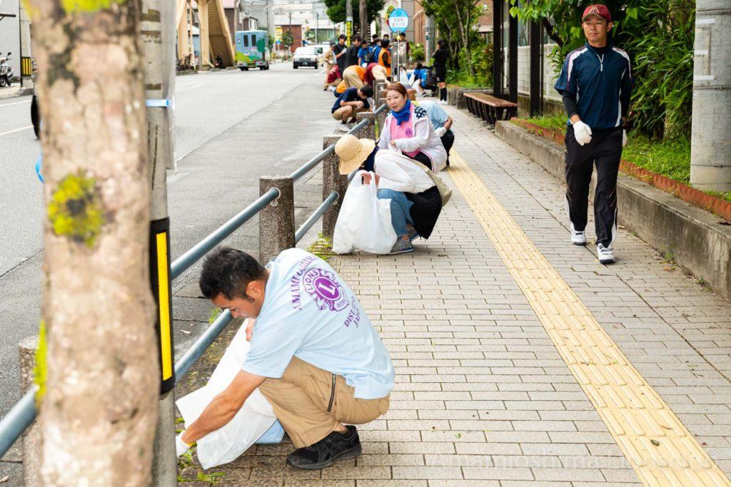 奄美大島ライオンズクラブ 130人参加!4クラブ初の合同作業写真